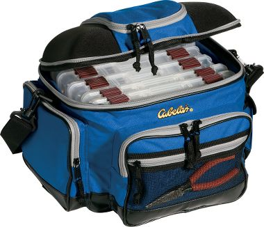 Pro guide 3600 tackle bag with boxes for Cabelas fishing backpack