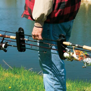 Rod reel storage for Fishing rod tote