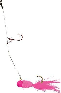 Slab daddy perch stackers for White perch fishing rigs