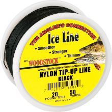 200 yard tip up line red for Ice fishing tip up line