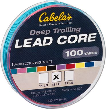 Lead core fishing line for Cabela s fishing line