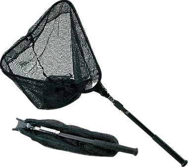 Folding telescopic nets for Collapsible fishing net
