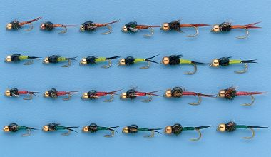 24 piece copper john assortment for Cabelas fly fishing