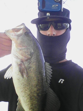 Largemouth Bass caught fishing Legg Lake by Tight Lines
