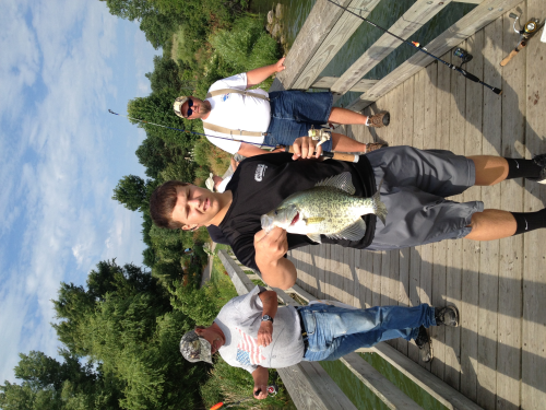 Crappie caught fishing Walnut Creek by jose rodriguez