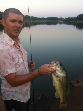 Twin bridges lake fishing report near edmond oklahoma for Twin lakes fishing report