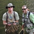 Big Native Rainbows while fly fishing in Yosemite with Yosemite Family Adventures