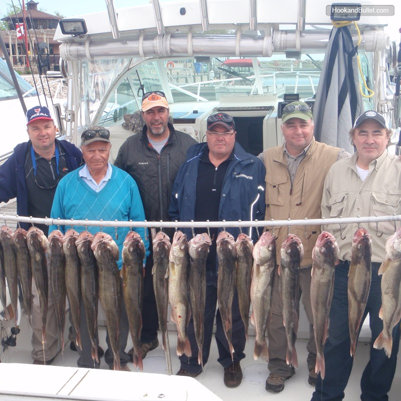 Rampage sports fishing charters fishing guide chatham for Lake erie shore fishing