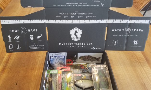 Mystery Tackle Box Subscription Review