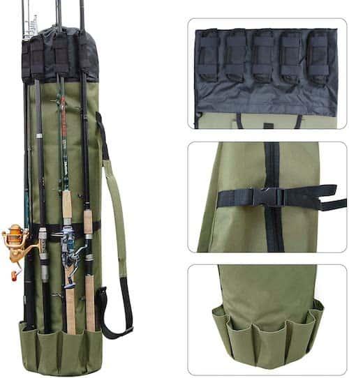 AGOOL Fishing Rod Bag