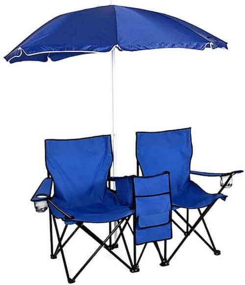 AK Energy Blue Double Chair