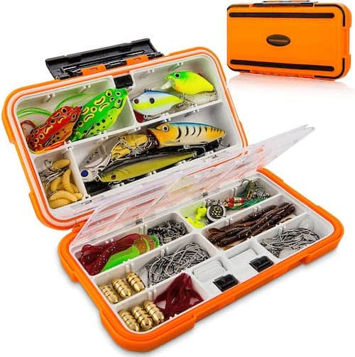 Catchmeister 117-Piece Tackle Kit
