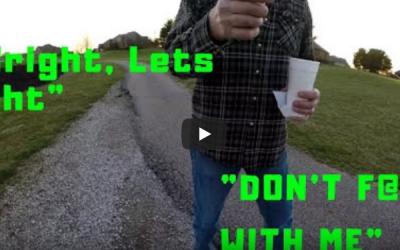 Drunk Threatens Angler for Fishing Lake