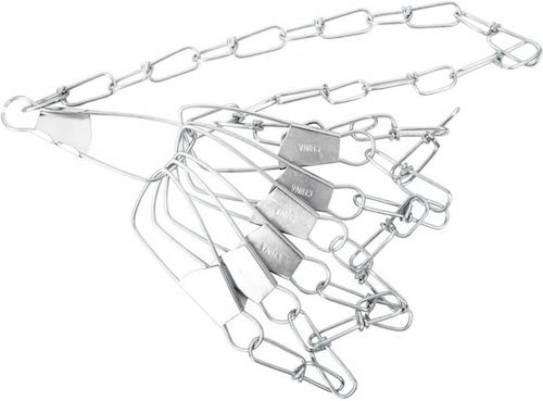An Eagle Claw Chain Fish Stringer against a white background.