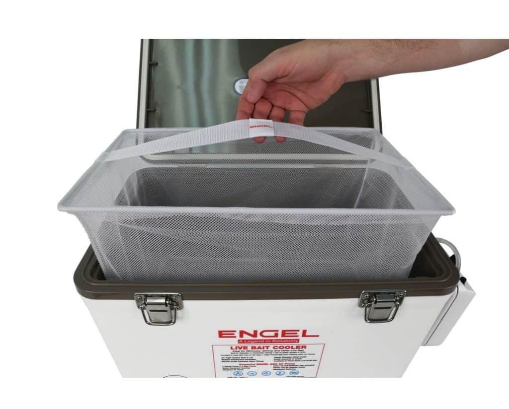Engel Live Bait Cooler net
