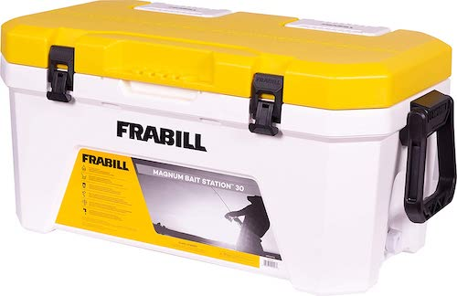 Frabill Magnum Live Baitwell against a white background.