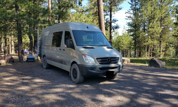 Sprinter Van Conversions: Starting Point