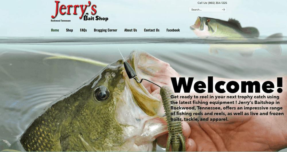 Featured: Jerry's Bait Shop in Rockwood, TN | HookandBullet