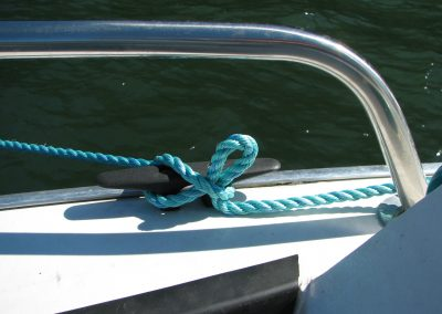 Tying off the Anchor