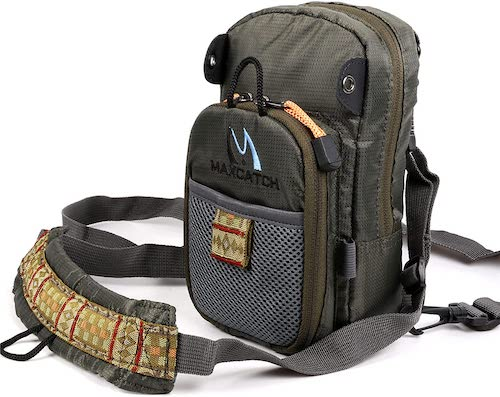 M Maximumcatch Fly Fishing Chest Pack