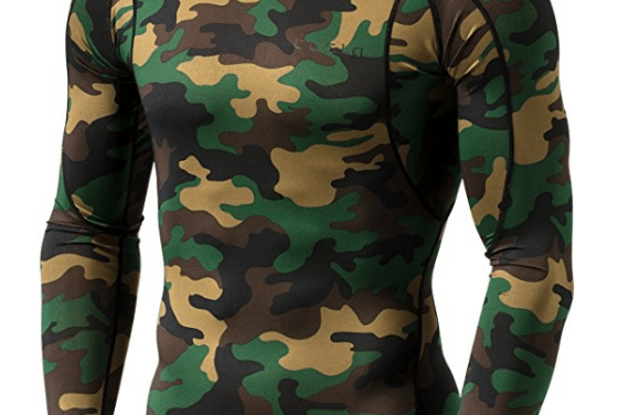 Men's Camo Cool Dry Baselayer ($17)