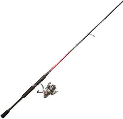 The Quantum Optix rod and reel combo against a white background.