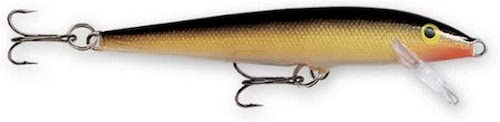 Rapala Original Floater, a fantastic piece of trout tackle, against a white background.