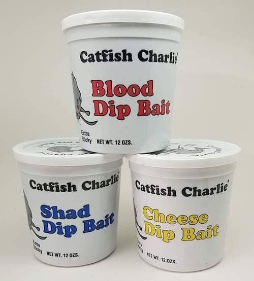 Catfish Charlie's Dip Bait Variety